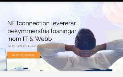 Vi hjälper NETconnection öka sin digitala närvaro