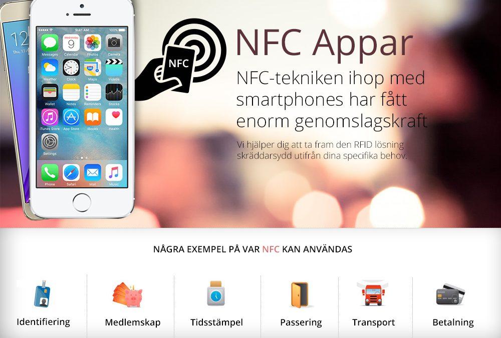 NFC & RFID Appar på framfart. Läs varför!